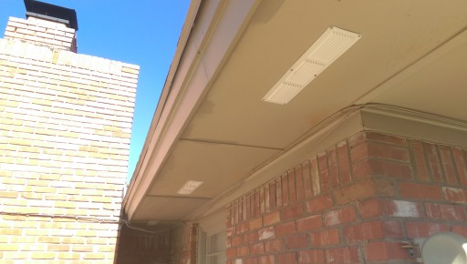 Finished Soffit Vents