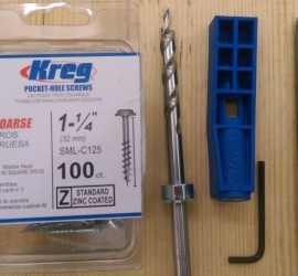 Kreg Mini Pocket Hole Jig and Accessories