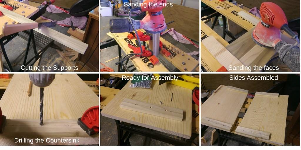 Shelf Support Steps