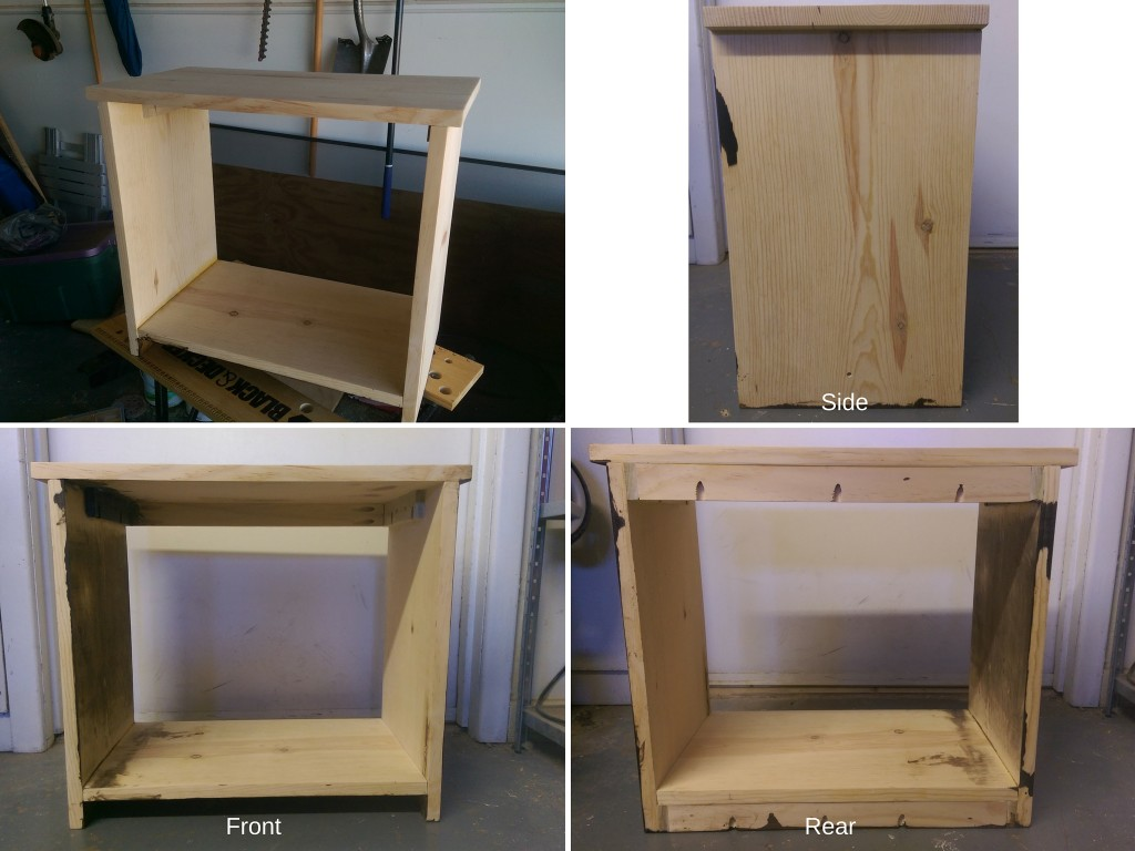 Assembled Toddler Night Stand
