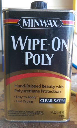 Minwax Wipe-On Poly Clear Satin (Oil Based)