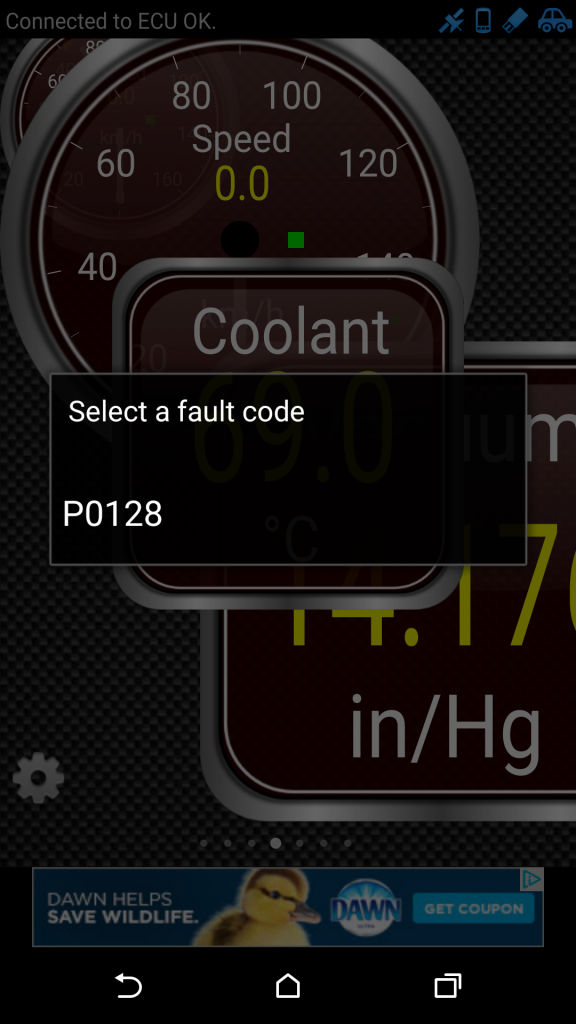 10. Select Fault Code For Details