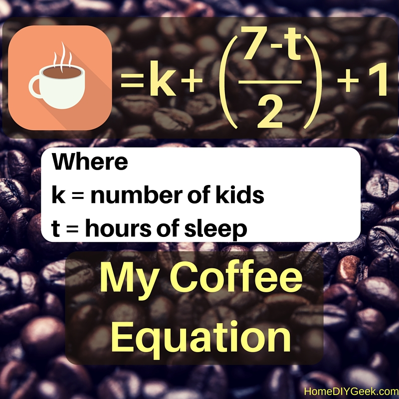 My Coffee Intake Formula