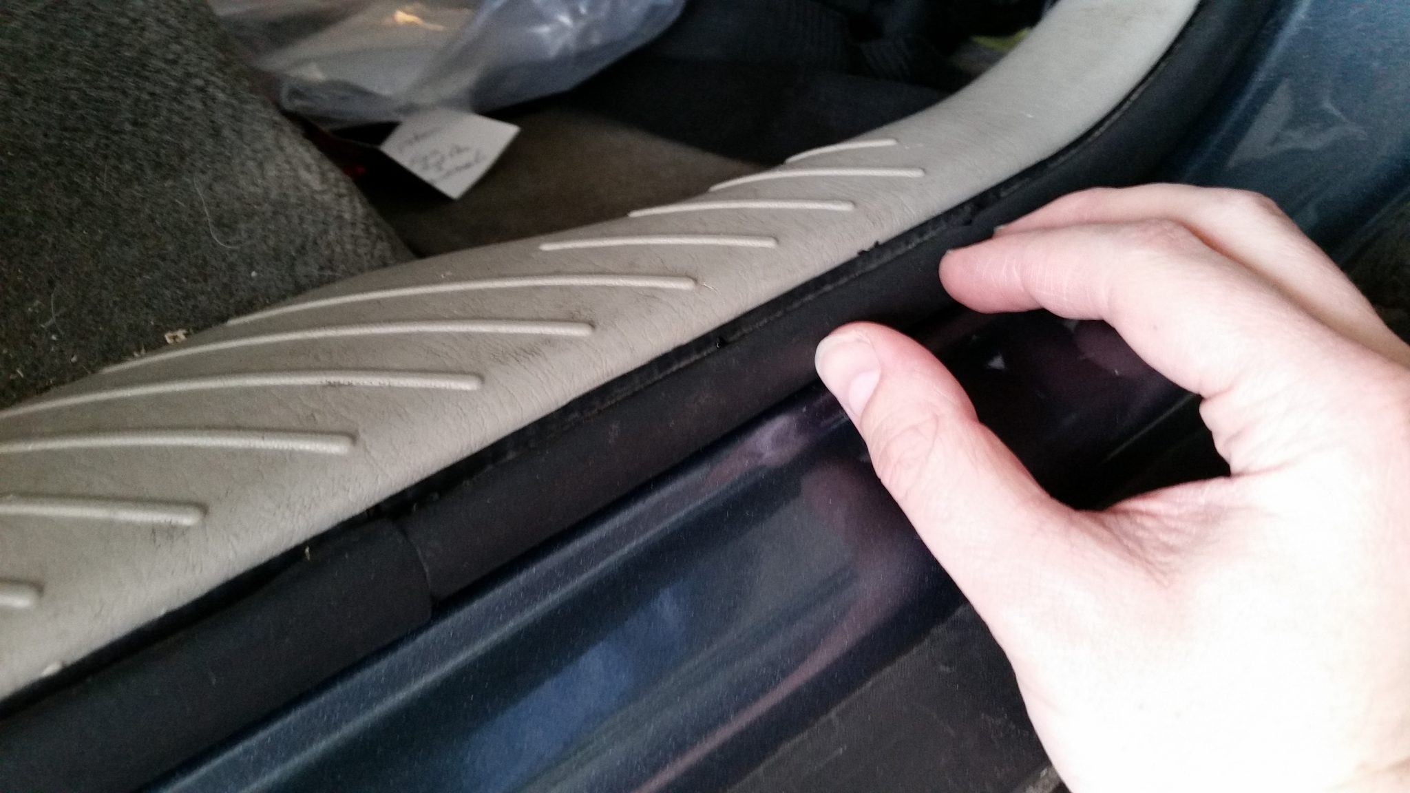 Car door weatherstripping repair homediygeek for Door weather stripping