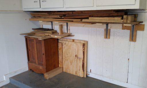Garage Shelf Finished Loaded