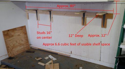 Garage Shelf Finished Annotated