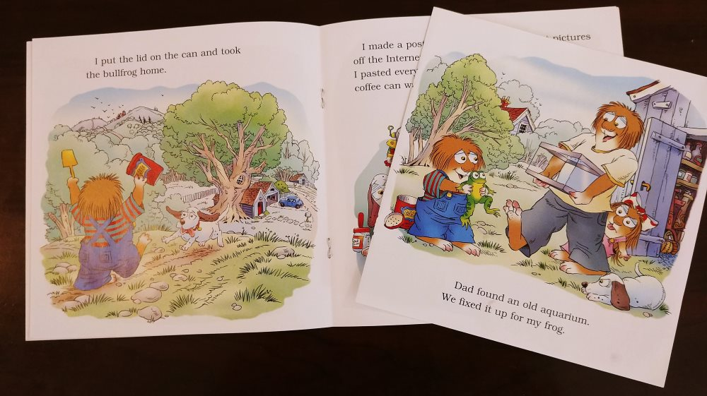 Repair a Staple Bound Picture Book - HomeDIYGeek