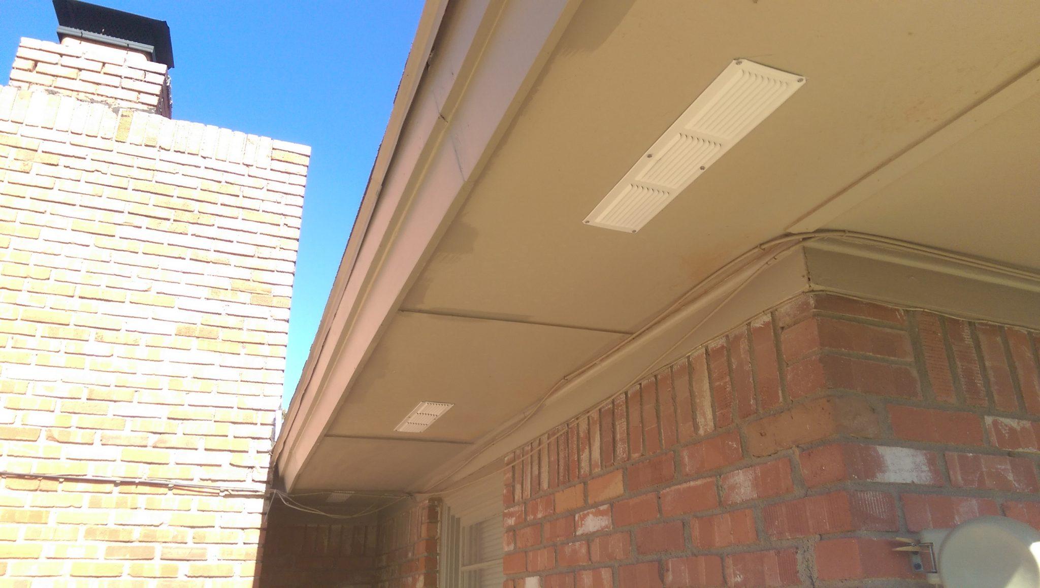 Soffit Vent Installation Homediygeek