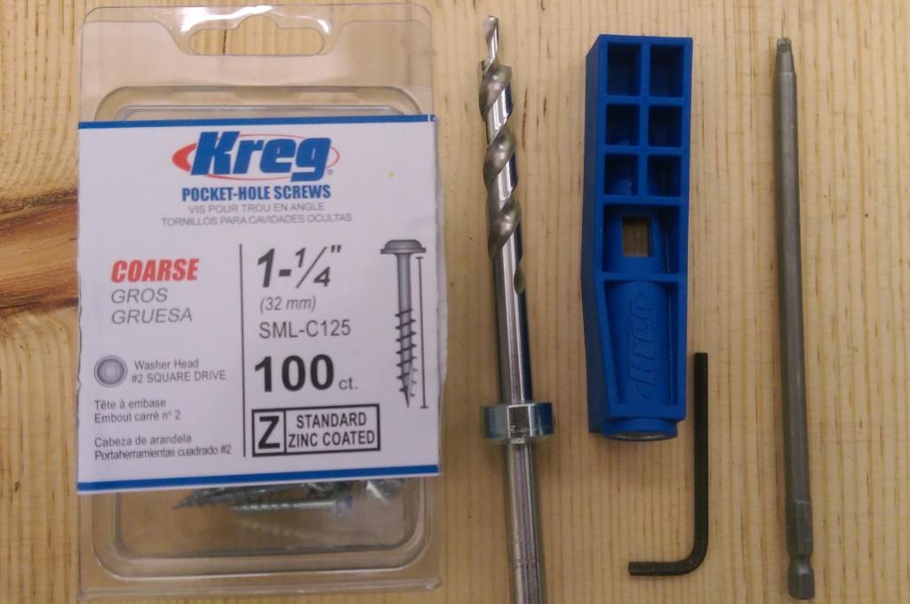 Kreg Jig Mini and Accessories