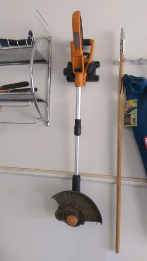 Battery String Trimmer Repaired and Ready for Action