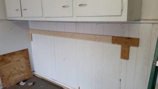 Garage Shelf Ledger Complete