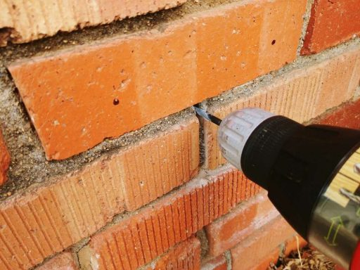 Drilling Holes for Exterior Outlet