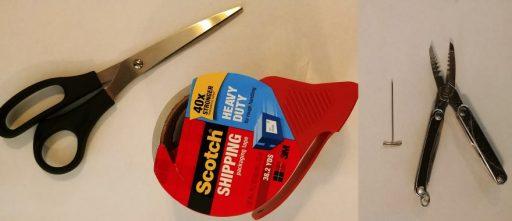 Tools to Repair Staple Bound Book